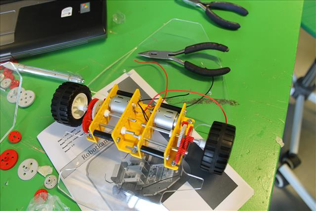 bouw je eigen robot